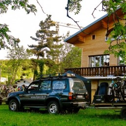 où dormir au vélovert festival, camp de base caminobike du Vercors à Autrans
