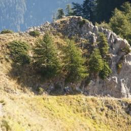 séjour vtt enduro dans le mercantour, fabuleuse traversée des alpes à vtt
