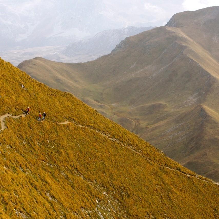 traversée vtt des Alpes Fabuleuse traversée des Alpes, Enduro Trip® Vanoise