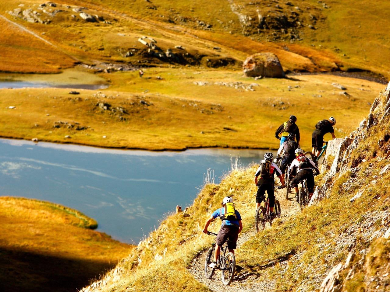 traversée vtt des Alpes Fabuleuse traversée des Alpes, Grande traversée des Hautes-Alpes
